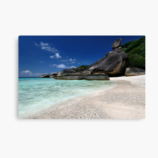 The Blue, Blue Similans Canvas Print