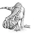 Ekrixinatosaurus by SerpenIllus