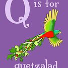 Q is for Quetzalad by veronicafannin