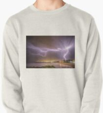 Lightning over Wollongong City Beach Pullover