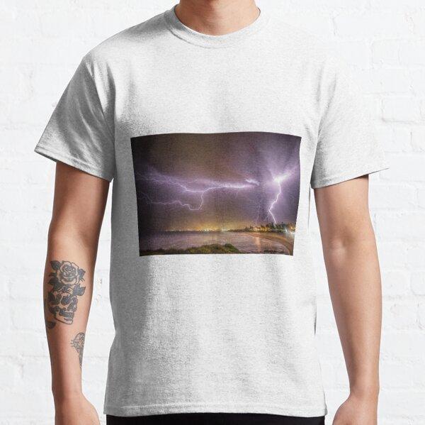 Lightning over Wollongong City Beach Classic T-Shirt