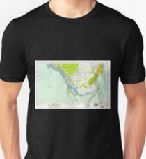 USGS TOPO Map Florida FL Miami 347469 1958 250000 Unisex T-Shirt
