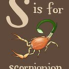 S is for Scorpionion by veronicafannin