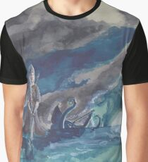 The Lady Knight at Sea Graphic T-Shirt