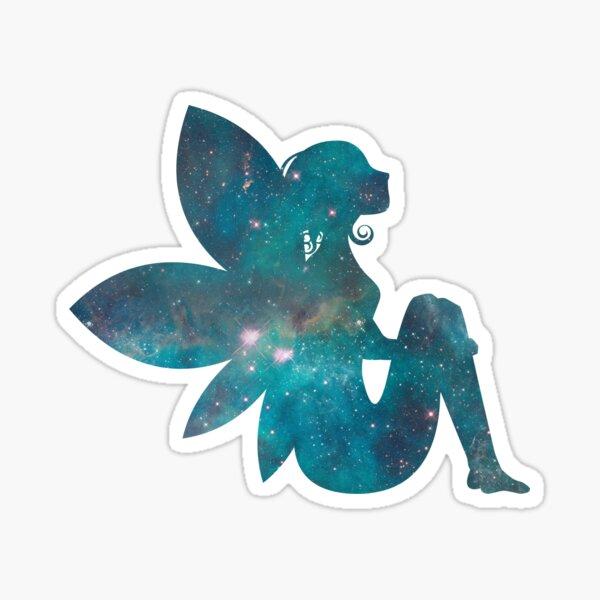 Sitting Blue Fairy Sticker