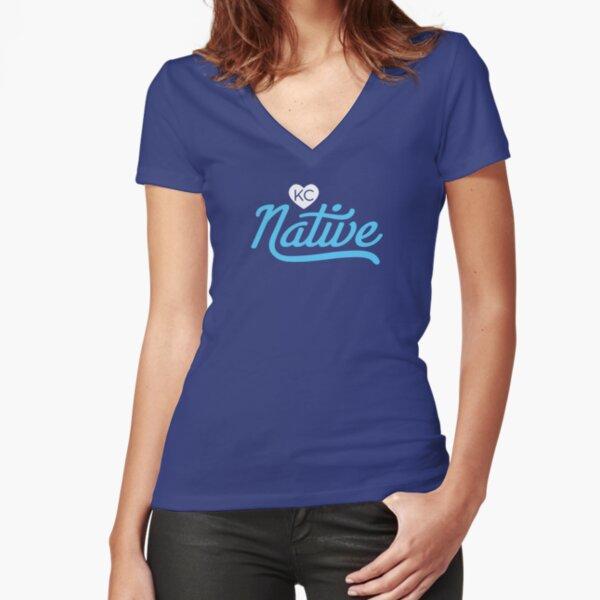 Kansas City Tshirt  Fitted V-Neck T-Shirt