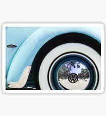 1962 Volkswagen VW Beetle Cabriolet Wheel Emblem -2120c Sticker