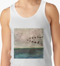 Flying V of Geese Men's Tank Top