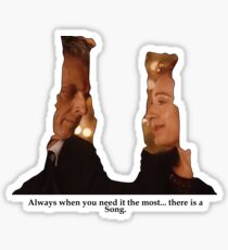 There is a Song Sticker