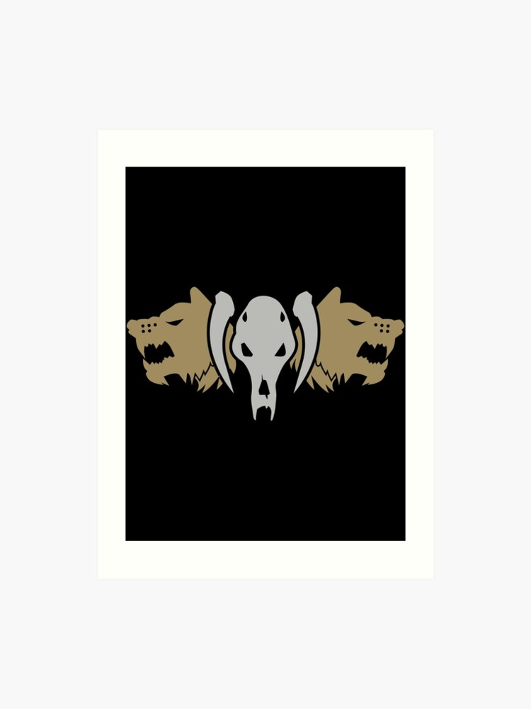 Space Wolves Warhammer 40k Art Print By Pixeptional Redbubble