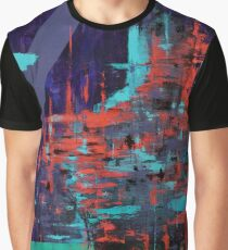 Taboo Glitch Abstract  Graphic T-Shirt