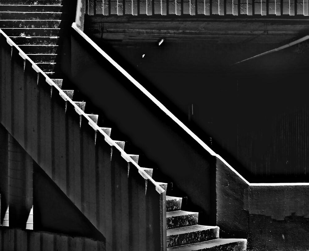 MC Escher Memorial Car Park by Bruce  Watson