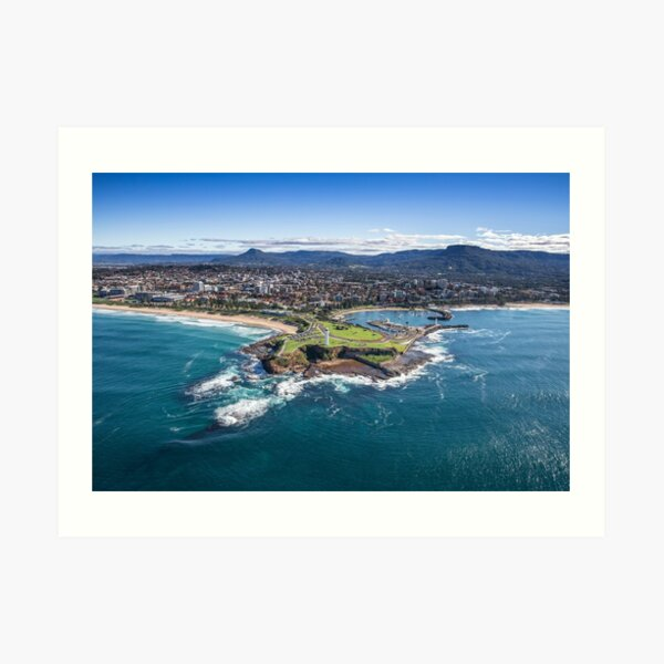 The City of Wollongong Art Print