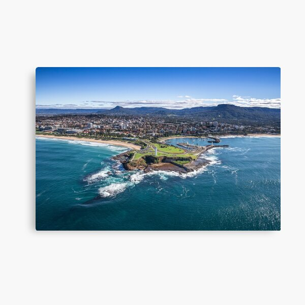 The City of Wollongong Canvas Print