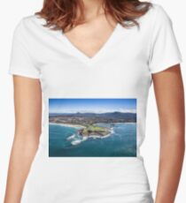The City of Wollongong Women's Fitted V-Neck T-Shirt