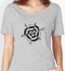 Mandala 3 Back In Black Women's Relaxed Fit T-Shirt