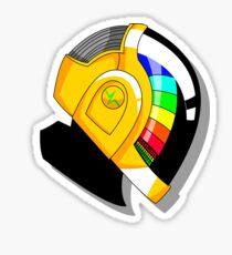 Guy Manuel Helmet Sticker