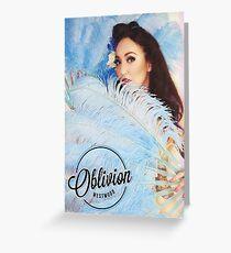 Oblivion Westwood Pin Up & Burlesque Dancer Greeting Card