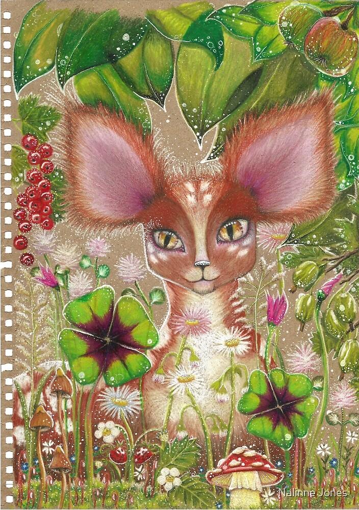 Fawn in the Dewy Forest by Nalinne Jones