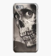 Evil Dead II - Bloody Ash with Skull Horror Art iPhone Case/Skin