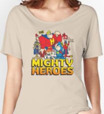 THE MIGHTY HEROES Women's Relaxed Fit T-Shirt