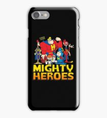 THE MIGHTY HEROES iPhone Case/Skin