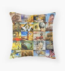 Salvador Dali Throw Pillow