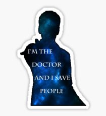 Doctor Who - I Save People Sticker