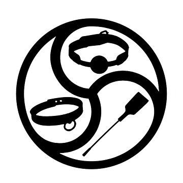 """BDSM Life"" BDSM and Kink Symbol by boundlesstees"