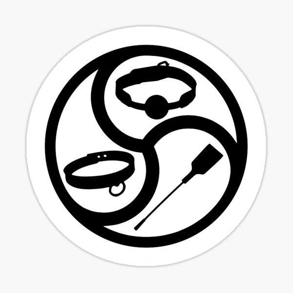 """BDSM Life"" BDSM and Kink Symbol Sticker"