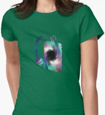 Galactic Tunes Womens Fitted T-Shirt