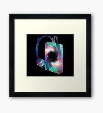 Galactic Tunes Framed Print