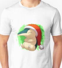 Pokemon Christmas Santa Cyndaquil T-Shirt