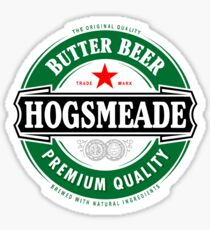 Hogsmeade Butter Beer Sticker