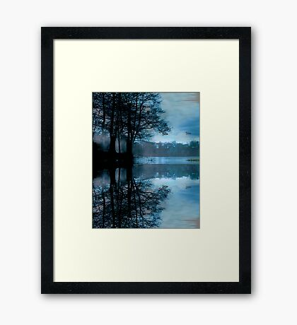 Reflections of Winter Framed Print