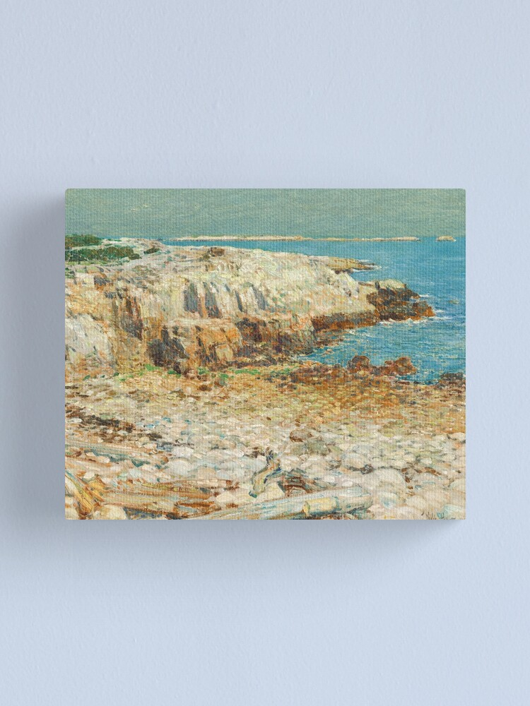 Alternate view of  A North East Headland Oil Painting by Childe Hassam Canvas Print
