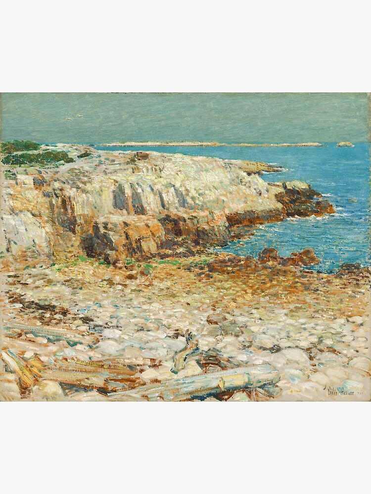A North East Headland Oil Painting by Childe Hassam by podartist