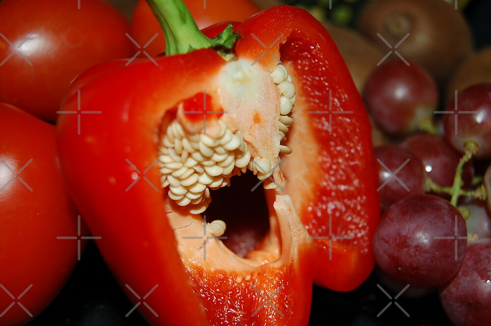 Red Pepper by Barbara Caffell