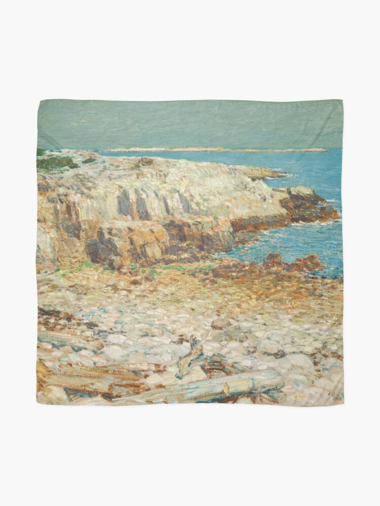 Alternate view of  A North East Headland Oil Painting by Childe Hassam Scarf