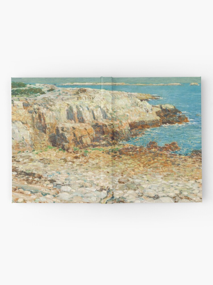 Alternate view of  A North East Headland Oil Painting by Childe Hassam Hardcover Journal
