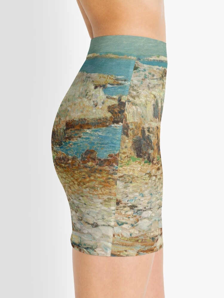 Alternate view of  A North East Headland Oil Painting by Childe Hassam Mini Skirt