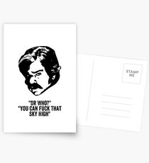Toast of London 'F that sky high!' Postcards
