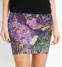 Purple Tribute Mini Skirt