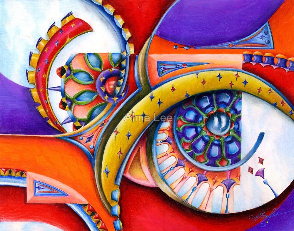 Windows of the Soul by Alma Lee