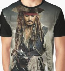 captain jack sparrow Graphic T-Shirt