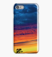 Fire Soaked Sky iPhone Case/Skin