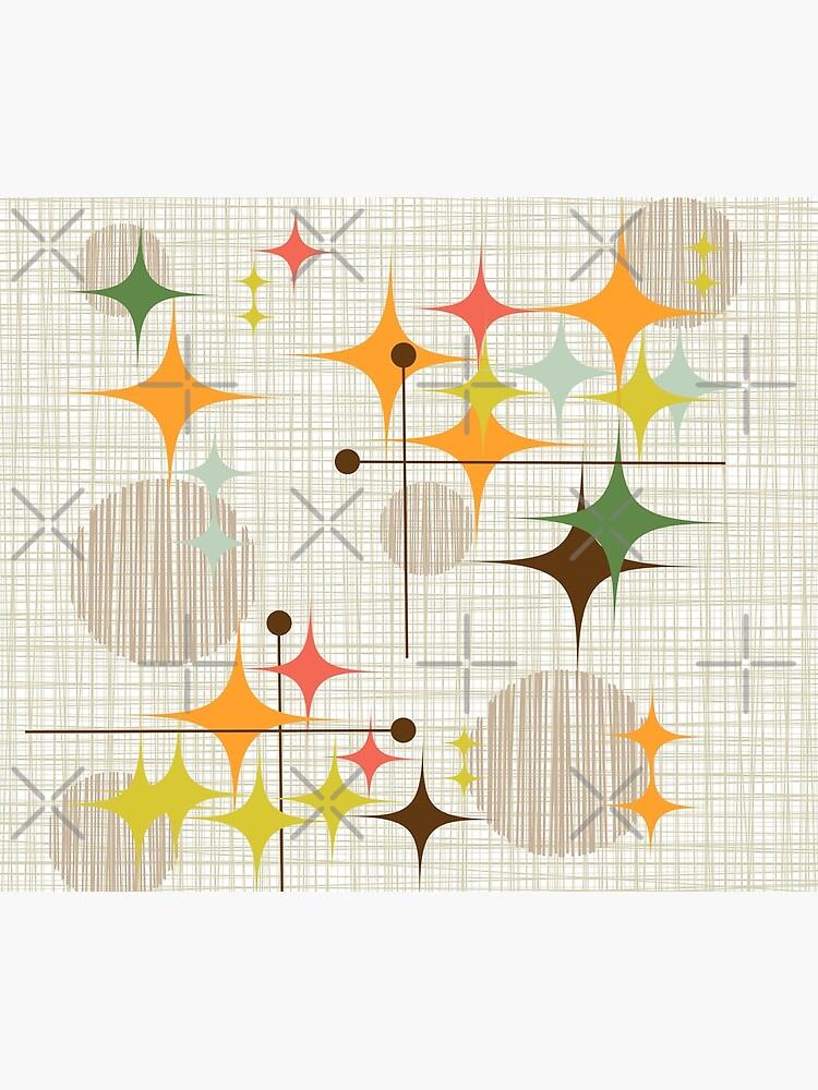 Eames Era Starbursts and Globes 3 (bkgrnd) by Makanahele