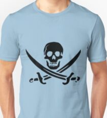 Pirates Logo Skull Unisex T-Shirt