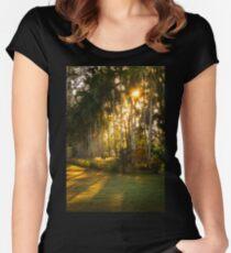 Sunburst at Litchfield National Park Women's Fitted Scoop T-Shirt
