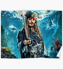 Dead Men Tell No Tales - Jack sparrow Poster
